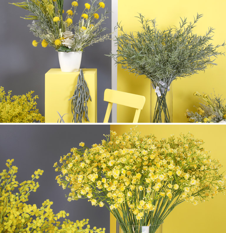 yellow-grey trend
